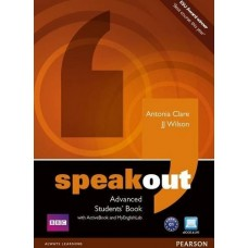 Speakout Advanced Student's Book + DVD + MyEnglishLab