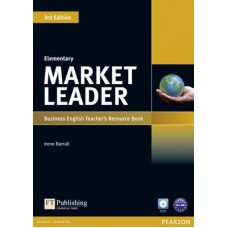 Market Leader (3rd Edition) Elementary Teacher's Book + CD
