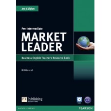 Market Leader (3rd Edition) Pre-Intermediate Teacher's Book + CD