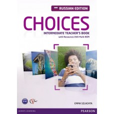 Choices Intermediate Teacher's Book + DVD Multi-ROM