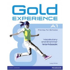 Gold Experience A1 Vocabulary and Grammar Workbook no key
