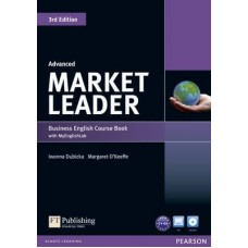Market Leader (3rd Edition) Advanced Course Book + DVD-ROM + Online