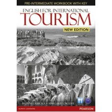 English for International Tourism (New Edition) Pre-Intermediate Workbook + Key + Audio CD