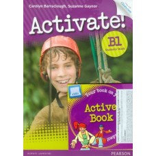 Activate! B1 Students Book + Access Code + Active Book Pack