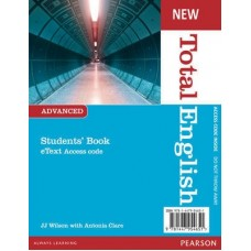 New Total English Advanced eText Students' Book Access Card