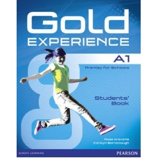 Gold Experience A1 Student's Book + DVD-ROM Pack