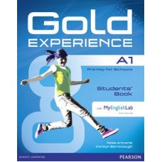 Gold Experience A1 Student's Book + DVD-ROM Pack + MyEnglishLab