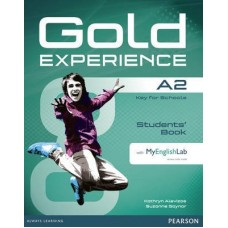 Gold Experience A2 Student's Book + DVD-ROM Pack + MyEnglishLab