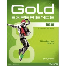 Gold Experience B2 Student's Book + DVD-ROM Pack