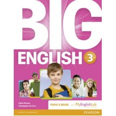 Big English 3 Pupil's Book + MyEnlishLab