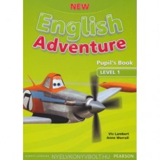 New English Adventure 1 Pupil's Book + DVD Pack