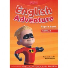 New English Adventure 2 Pupil's Book and DVD