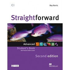 Straightforward 2nd Edition Advanced Student's Book + Webcode