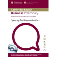 BEC Speaking Test Preparation Pack Preliminary + CD