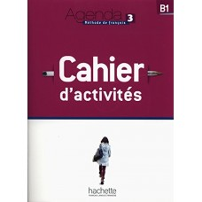Agenda 3 Cahier d'activites + Audio CD