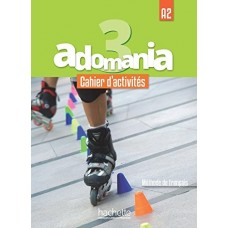 Adomania 3 Cahier d'activites + CD audio + Parcours digital