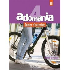 Adomania 4 Cahier d'activites + CD audio + Parcours digital