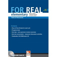 For Real Elementary Tests and Resources + Testbuilder CD-Rom/Audio CD