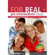 For Real Pre-intermediate Student's Pack (Student's Book & Workbook + LINKS + LINKS Audio CD)