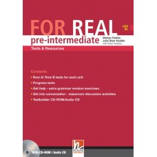 For Real Pre-intermediate Tests and Resources + Testbuilder CD-Rom/Audio CD