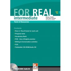For Real Intermediate Tests and Resources + Testbuilder CD-Rom/Audio CD