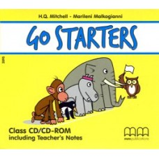 Go Starters Class Audio CD + Teacher's Notes