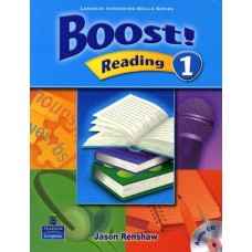 Boost 1 Reading Student Book + Audio CD