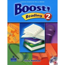 Boost 2 Reading Student Book + Audio CD