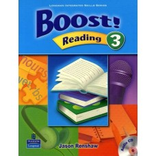 Boost 3 Reading Student Book + Audio CD