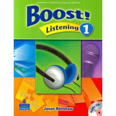 Boost 1 Listening Student Book + Audio CD