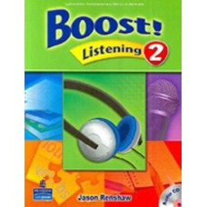 Boost 2 Listening Student Book + Audio CD