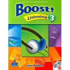 Boost 3 Listening Student Book + Audio CD