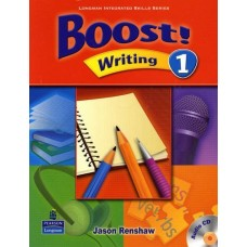 Boost 1 Writing Student Book + Audio CD