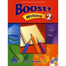 Boost 2 Writing Student Book + Audio CD