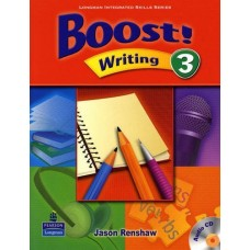 Boost 3 Writing Student Book + Audio CD