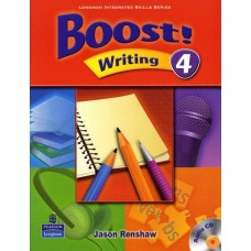 Boost 4 Writing Student Book + Audio CD